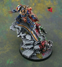 Warhammer 40k Night Lords Primarch Conrad Curze Forge World M-1 pro-painted