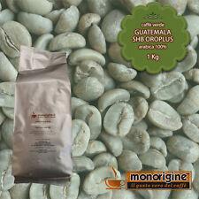 Caffè Verde in Grani Guatemala SHB Oroplus 1 Kg - Caffè Arabica 100%