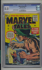 Marvel Tales #137 CGC 8.0 VF Unrestored Marvel PCH Pre Code Horror CR/OW Pages