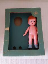 Vintage Knickerbocker Plastic Boy Doll Set In Box No. 700