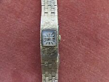 Vintage Ladies Accurist 17 Jewel 10 Micron Gold Plated Wristwatch