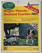 VINTAGE HAGSTROM ATLAS MAP BERGEN PASSAIC ROCKLAND COUNTIES NJ 1999