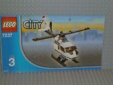 LEGO® City Bauanleitung 7237 Police Station Heft 3 gelocht instruction B5021