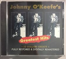 Johnny O'keefe's Greatest Hits – RARE AUSTRALIAN CD W/ LTD ED COLLECTORS CARD