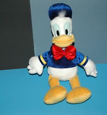 "Disney Store Donald Duck 18"" Authentic Plush Stuffed Animal Navy Sailor Hat Toy"