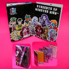 MONSTER HIGH STUDENTS CATALOG CHARACTERS BROCHURE LIMITED