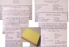 1956 AUSTRIAN Ck.:RECIPES COOK BOOK AUSTRIA soup sauce pastries pastry moravian