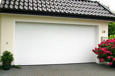 Gliderol Auto Insulated 8' roller garage door Laminate