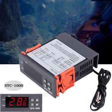 Universal Stc 1000 Digital Temperature Controller Thermostat With Sensor Ac 12 24v