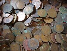 Australian Copper Half Pennies and Pennies Scrap Coins Bulk Lot Approx 10KG