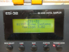 EMU ESI-32 Turbo Sampler +Zip Drive+CD-ROM + reference guide *Mint condition*