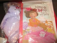 American Girl Bitty Baby Mini Plush Hedgehog & Book Tea Party Bnip