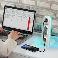 Aduro Surge Dual USB Surge Desktop Charging Station Home Office Smart Charger