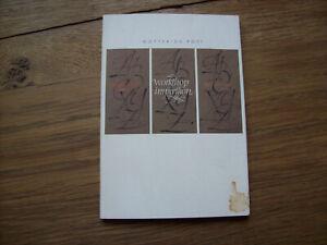 Gottfried POTT Workshop Impression *Die Kalligraphie Edition*kt. 1989*dt./engl*
