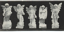 1900 Advertising Card for Headstone Grave Makers of Angels and Children