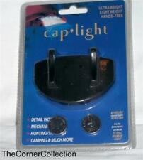 NEW BATTERY OPERATED CAP LIGHT w/ 5 LED'S & BATTERIES INCLUDED