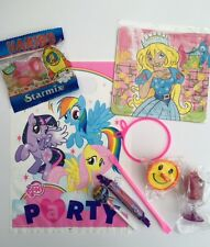 My Little Pony girls ,party bags pre filled, toys and sweets , fast post