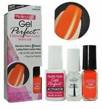 Nutra Nail Gel Perfect 5 MINUTE GEL MANICURE Color - 12770 TANGERINE Halloween !