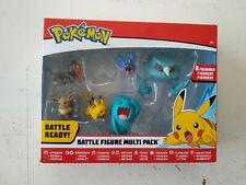 Jouet 6 figurines Pokemon Battle figure Multipack :Pikachu/Flamiaou/Evoli...