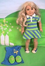 American Girl Doll of the Year 2010 Lanie with Meet Outfit and PJ's Set