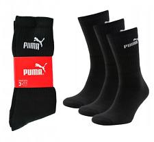 PUMA 3-12 Paar Socken Sportsocken Baumwolle Freizeitsocken Tennis Unisex Crew