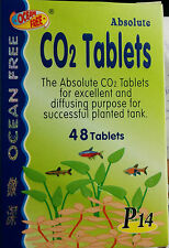 Ocean Free - CO2 Tablets - 48nos - Live Planted Tank - Aquarium Fish Tank