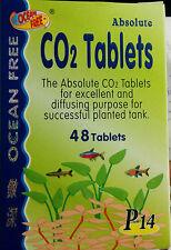 Ocean Free - CO2 Tablets - 48nos - Live Planted Tank - Aquarium Fish Tank