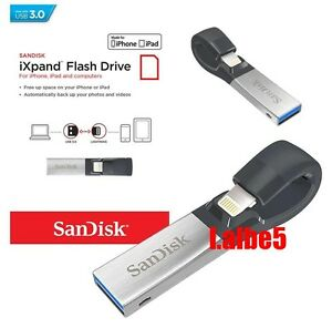Sandisk iXpand 16GB 32GB 64GB 128GB 256GB USB Flash Drive USB3.0 for iPhone iPad