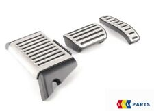 NEW GENUINE AUDI Q7 07-16 STAINLESS STEEL PEDAL COVERS AUTOMATIC LHD 4L1064205A