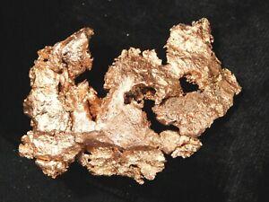 COPPER Nugget or Native Copper Float 65.2gr