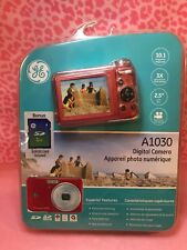 GE Active Series A1030 10.1MP Digital Camera - Red