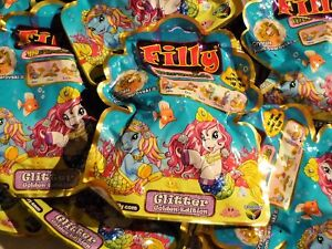 Filly Mermaids Glitter Golden Edition - 8 Tüten - Booster NEU Pferde Pferdchen