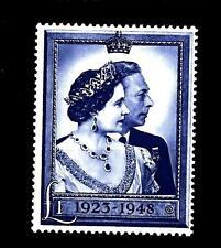 GREAT BRITAIN - GRAN BRETAGNA - 1948 - Nozze d'argento dei Sovrani - Alto valore