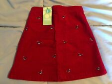 Gymboree NEW/NWT Girls~Whale Watching~Corduroy Embroidered Whale Skirt Size 5