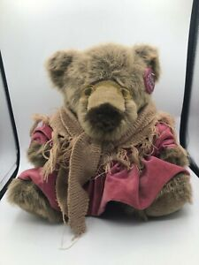 Vintage Great American Fun Corp Teddy Bear Precious Plush Stuffed Toy Animal