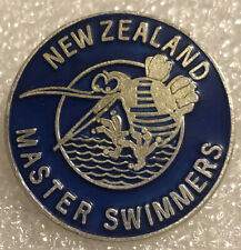 New Zeland Masters Swimmers Collectors Pin