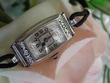 1930's Ladies Art Deco Enamel Gruen Watch ~  Runs