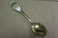 A MICHELSEN GILDED STERLING SILVER ENAMEL 1959 CHRISTMAS SPOON DC162/CL