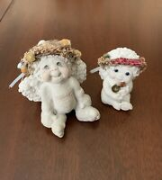 Lot of 2 Cast Art Industries Dreamsicles Cherubs Angels Collectibles