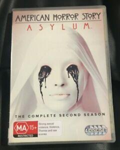 American Horror Story :Season 2 (DVD 2013 4-Disc Set) Very Good Condition R4