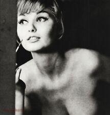 1962 Sam Haskins Female Nude Woman Glamour Retro Style Makeup Vintage Photo Art