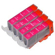 4 CANON Druckerpatronen mit Chip CLI-521 magenta IP 3600 IP 4600 IP 4700 NEU