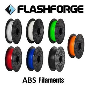 Flashforge ABS 3D Printer Filament 1.75mm 0.5KG for Dreamer/Inventor/Adventurer