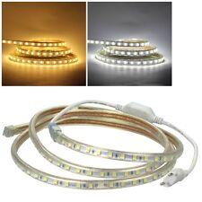 "(11,98€/m) 5m Led Stripe 230V dimmbar ""Ultra-Bright"" SMD Licht-Streifen flexibel"
