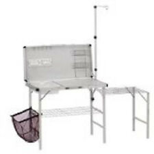 Coleman Folding Camping Table  Equipment Supplies Outdoor Portable Barbeque Pit