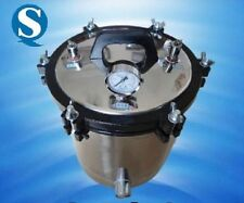 18L Portable Tatoo Autoclave, High Pressure Steam Sterilizer Autoclave