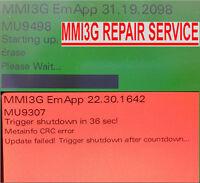 AUDI MULTIMEDIA MMI3G  REPAIR SERVICE MMI3G+ MMI3G HIGH MMI3G LOW 3GP