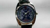 Vintage Titus 17J Mechanical Hand Winding Movement Analog Dial Wrist Watch AC24