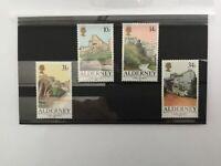 ALD5001 ALDERNEY C.I. - 1986 Forts - full set of 4 - MNH