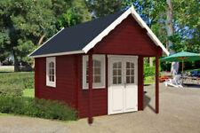 Blockbohlen Gartenhäuser mit 10,1-24 m² Fläche